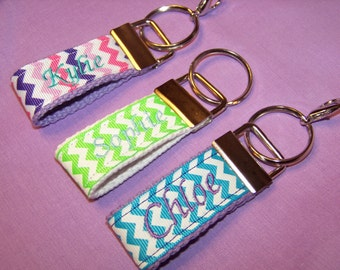 Personalized Mini Key Fobs, Mini Key Fobs, Luggage Tags, Backpack Tags, Zipper Pulls