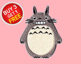 Totoro Patches Iron On Embroidered Patches Iron On