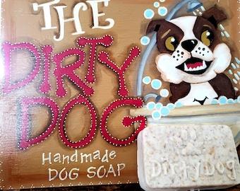 Goatmeal dog soap