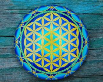 The Flower of life mandala magnet