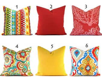 Yellow Outdoor Pillows ANY SIZE Outdoor Cushions Outdoor Pillow Covers Decorative Pillows Outdoor Cushion Covers Best Pillow OD You Choose