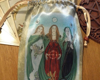 Triple Goddess Tarot Bag