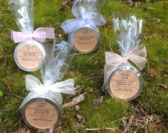 Bridesmaid Gifts - Wedding Party - Mini Bath and Body Products - Custom Colors - Custom Labels