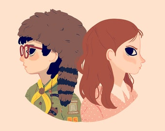 Sam and Suzy - Art Print