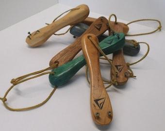The B.O.N.E. bottle opener, wood bottle opener, manley, wooden bottle opener