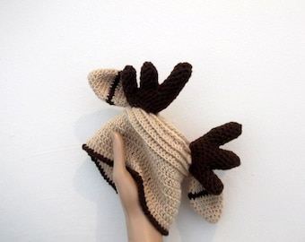 Cute Reindeer Hat - Photography Prop - for newborn and children-boy halloween costume-toddler christmas hat