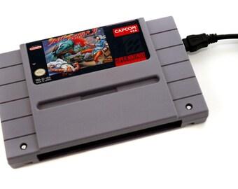 USB 3.0 SNES Hard Drive - Street Fighter II