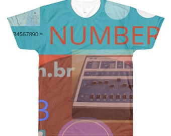 Hiphop graphic design tshirt dye sublimation