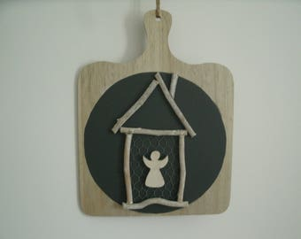small pieces of wood and Angel cottage