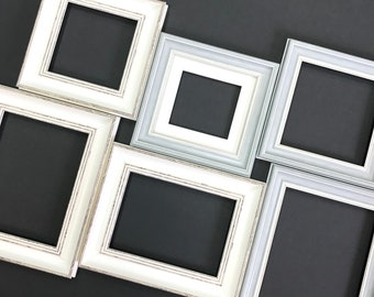 Picture Frame Set of 6 Frame Home Decor Living Wall Art Whine frame Shebbie chic frame