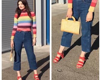 Vintage high waisted Wrangler jeans 27 x 30