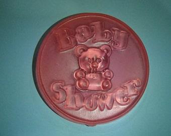 Pink Baby Shower Glycerin Soap