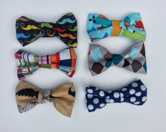 Baby Boy Bow Tie // Clip On Bow Tie // Clip on Tie // Infant Bow Tie // Toddler Bow Tie // Little Boy Boy Tie //