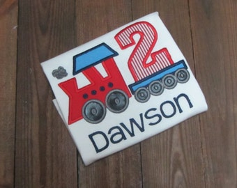 Train birthday shirt, Toddler train shirt, boy birthday shirt, toddler birthday outfit, toddler tshirt, train party, boy tee