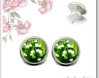 Stud Earrings 5 version colors to choose Lily-3 OSH-012-123