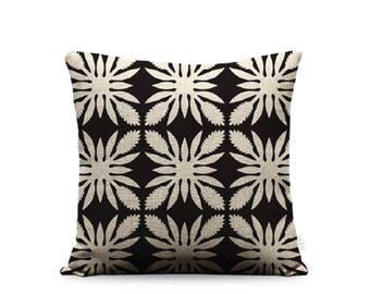 18x18in Torch Ginger Quilt Linen Pillow Cover