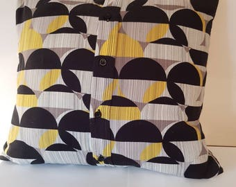 42 cm trendy cushion cover complete with new cushion pad