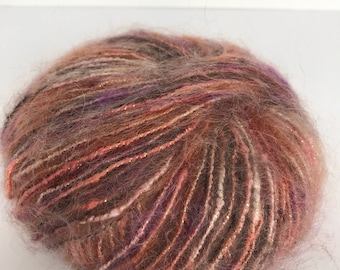 TRENDSETTER YARNS-Dune Tan/Pink...free domestic shipping