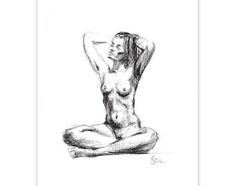 Confident Contemplation 02 fine art giclee print