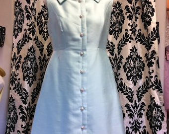 Gorgeous 50's Mint Shift Dress