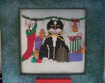 Christmas Spirit X-stitch Chart