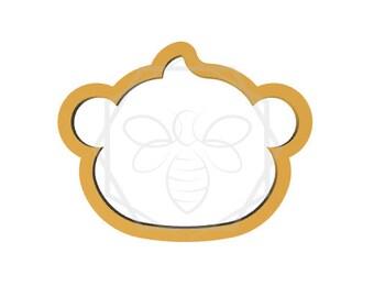 Jillbeesz Monkey Head Cookie Cutter