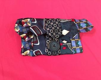 Necktie Button Pouch