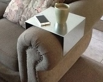 Couch table, Sofa table, sofa shelf, couch shelf, couch arm table, sofa, couch, sofa tray, Mens Gift, Birthday Gift, For Him, gift for Her