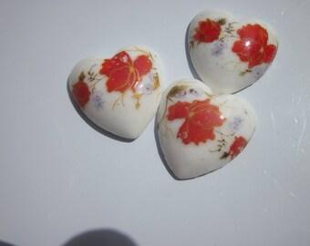 2 hearts ceramic craft 20mm (4)-