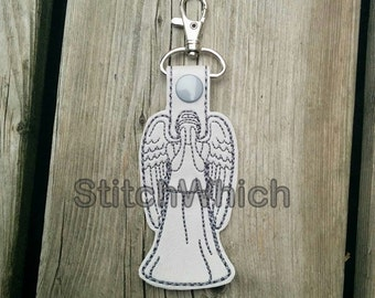 Don't Blink Inspired Snap Tab/Key Fob