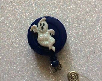 Retractable ghost badge holder retractable badge holder