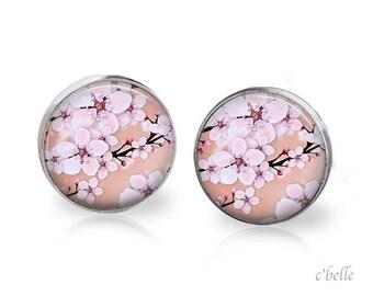Earrings cherry blossoms 71