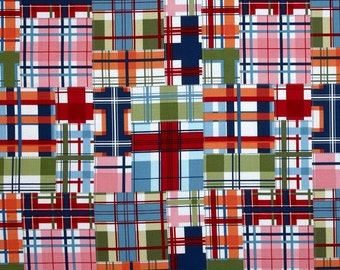 Michael Miller fabric Shore Thing MADRAS PATCH