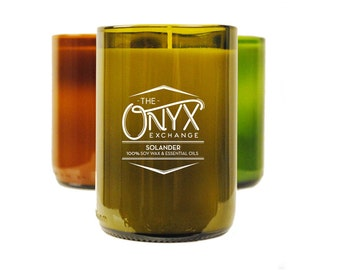 Solander - Soy Wax & Essential Oil Candle - Eucalyptus and Lemongrass Scented
