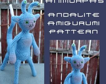 Crochet Pattern: Animorphs Andalite Amigurumi PDF Instant Download
