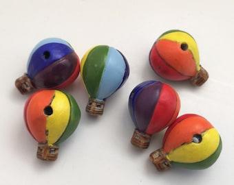 6 heiße Luft Ballooon Perlen