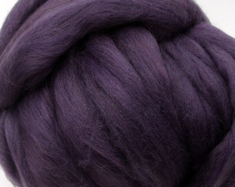 4 oz. Merino Wool Top - Summer Plum - SHIPS FREE