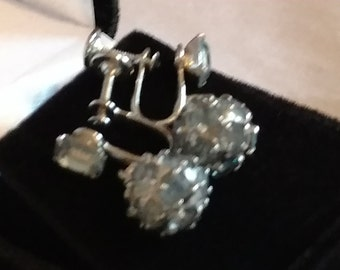 Vintage Weiss Earrings, Signed