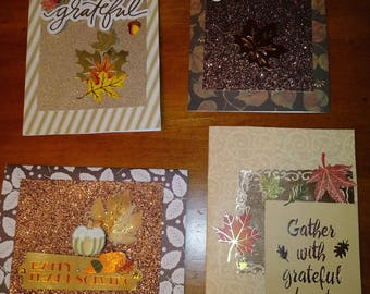 Thanksgiving Greetings Card Pack