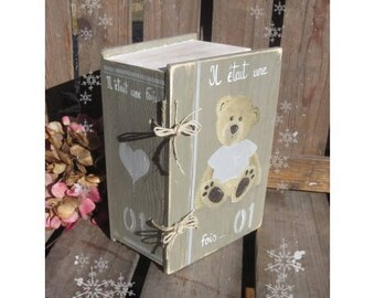 """Box book """"Once upon a time"""""""