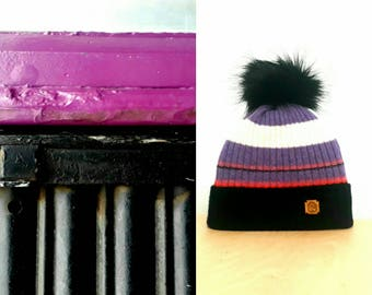 New striped rib hat based on Glasgow images