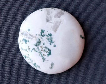 Tree Agate Stone Cabochon - Round