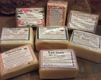 Granny Lou's Natural Lye and Emu Oil Soaps