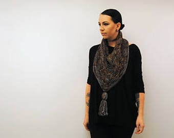 VISCOUNT Knitting Pattern PDF BULKY Weight Cowl