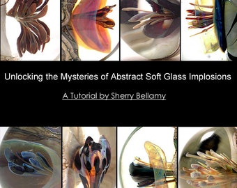 Verre souple abstrait Implosions Tutorial - Sherry Bellamy