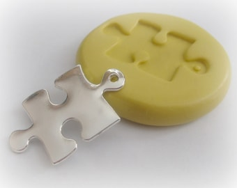 Puzzle Mold, Silicone Molds, Autism Mold, Chocolate, Polymer Clay, Fondant Mold, Cabochon Mold, Resin, PMC, Soap Embed, Wax Mold