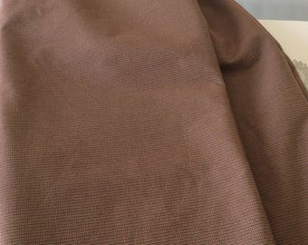 Brown and Burgundy design fabric in tiny houndstooth