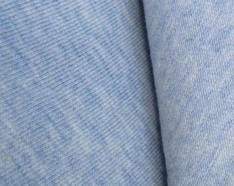 Organic Cotton Spandex Jersey - Heather Blue 200 gsm (6006.24.00.00)