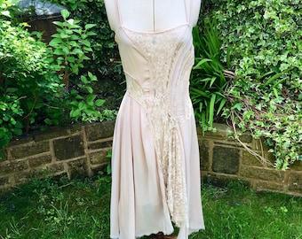 Vintage Summer Dress, Beach Wedding, Wedding Party, Boho Wedding