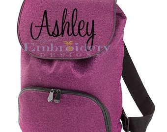 Monogrammed Cheer Backpack Custom Backpack Cheerleader Backpack
